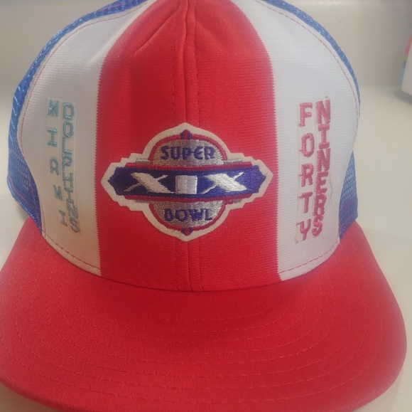 Snap Other - Superbowl 19 New Trucker Cap Rare🔥